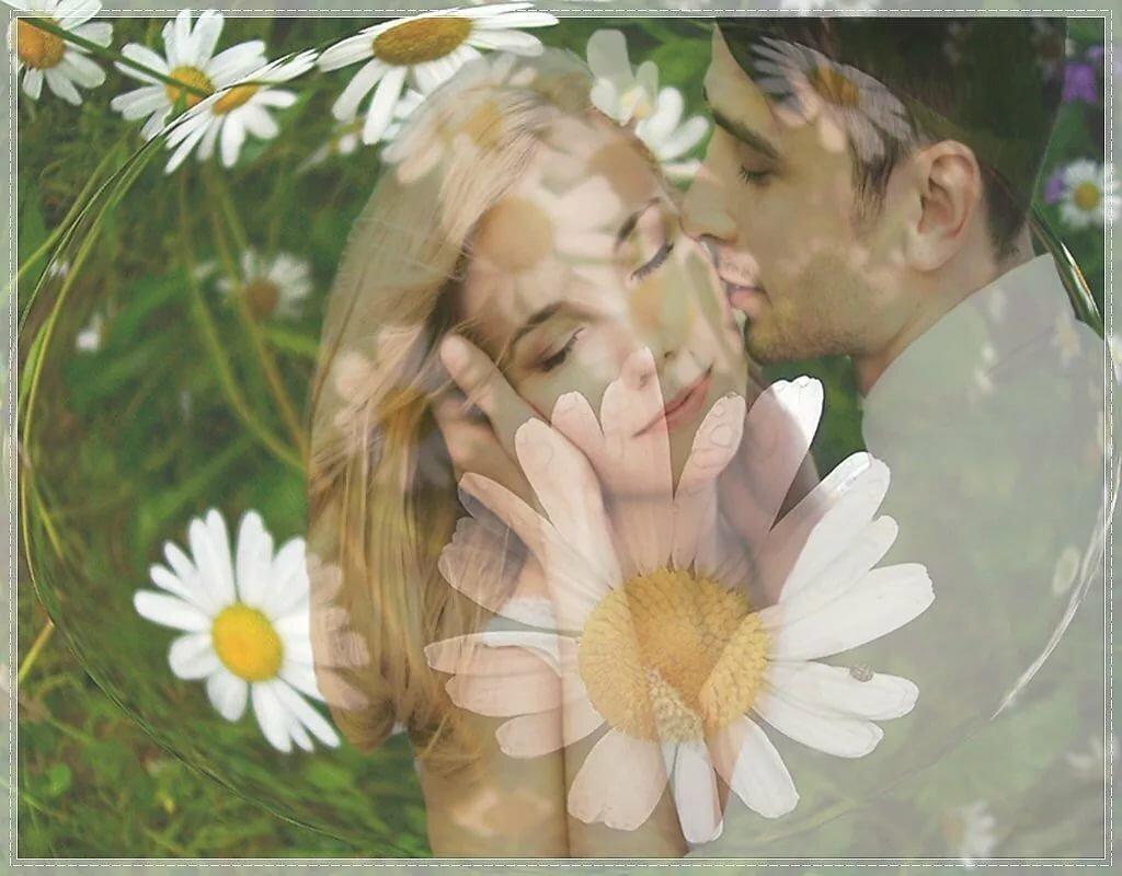 Открытки любовь в поле, стиле