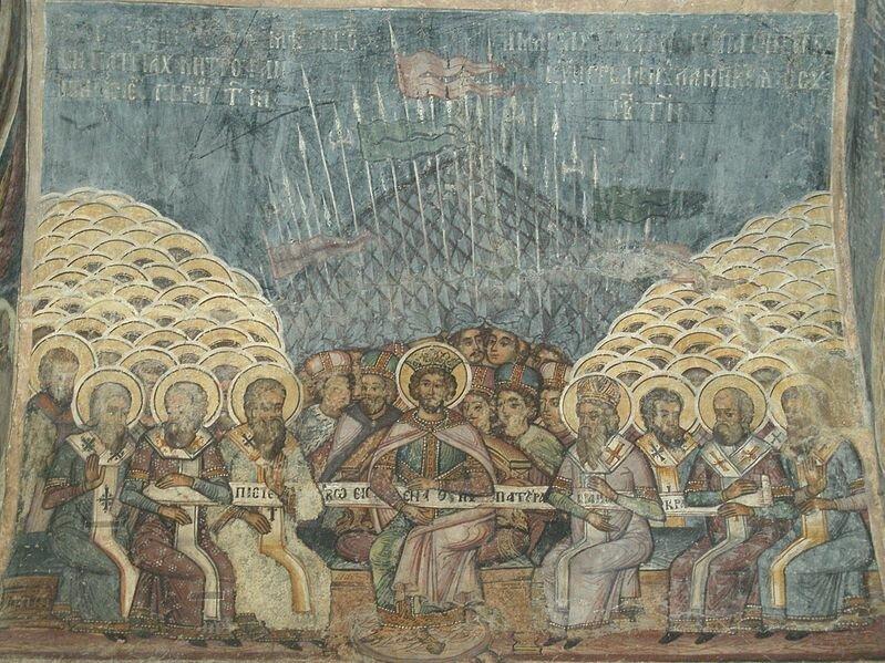 25 августа 325 года окончился Первый Вселенский Собор в Никее