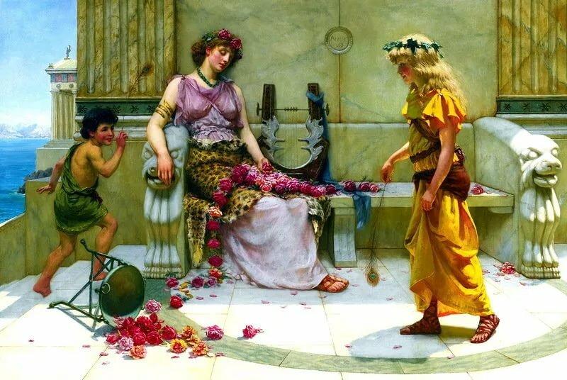 Древняя греция открытка