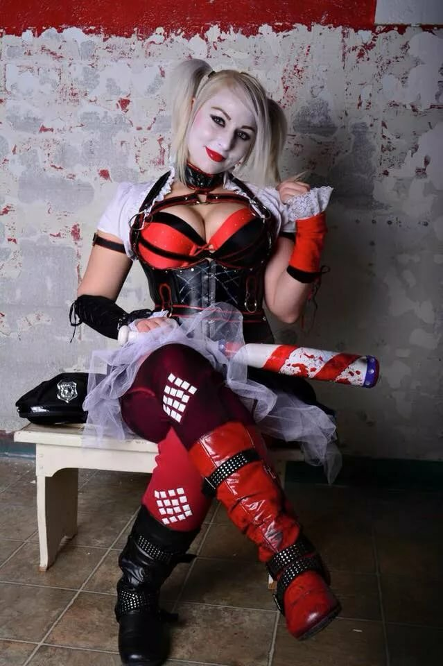 Care Cosplay Harley Quinn Story Palimas 1