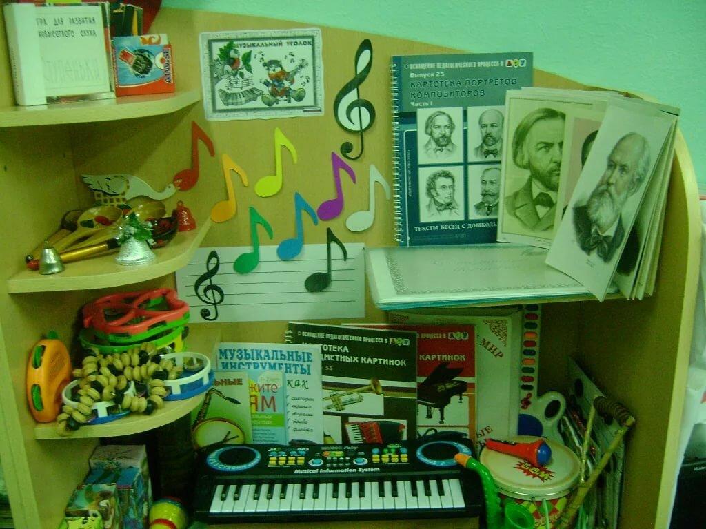 Центр музыки в доу картинки