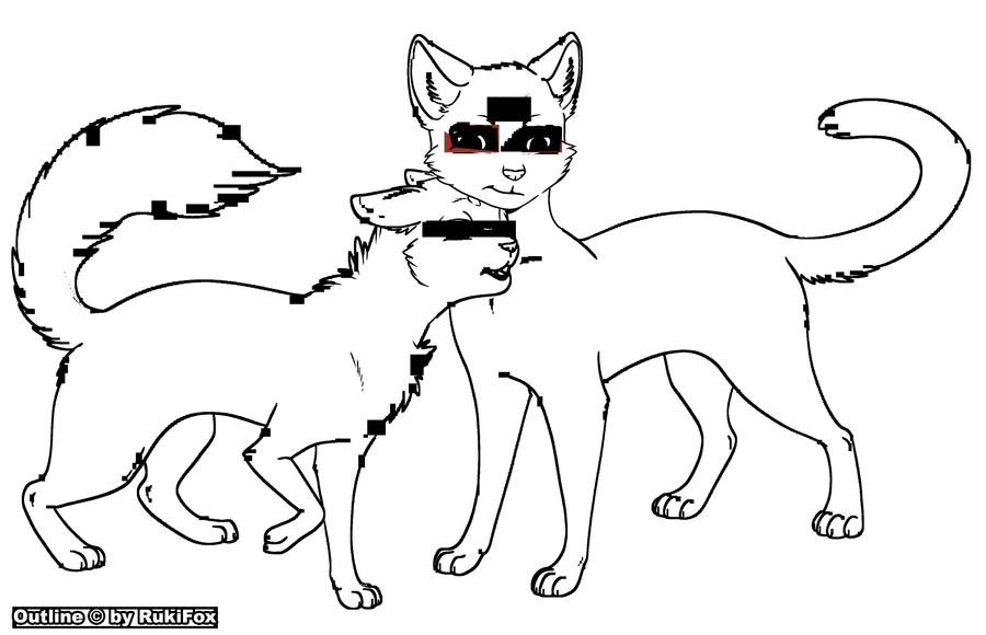 Картинки как нарисовать кошку лану