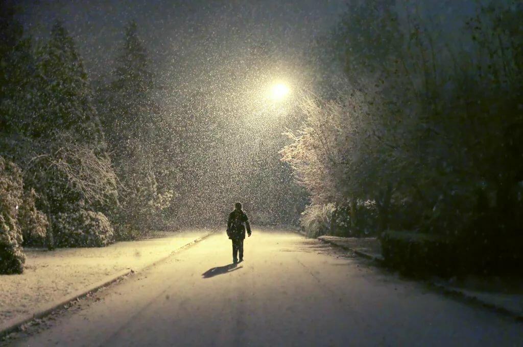 ваше человек идущий по снегу картинки новичков