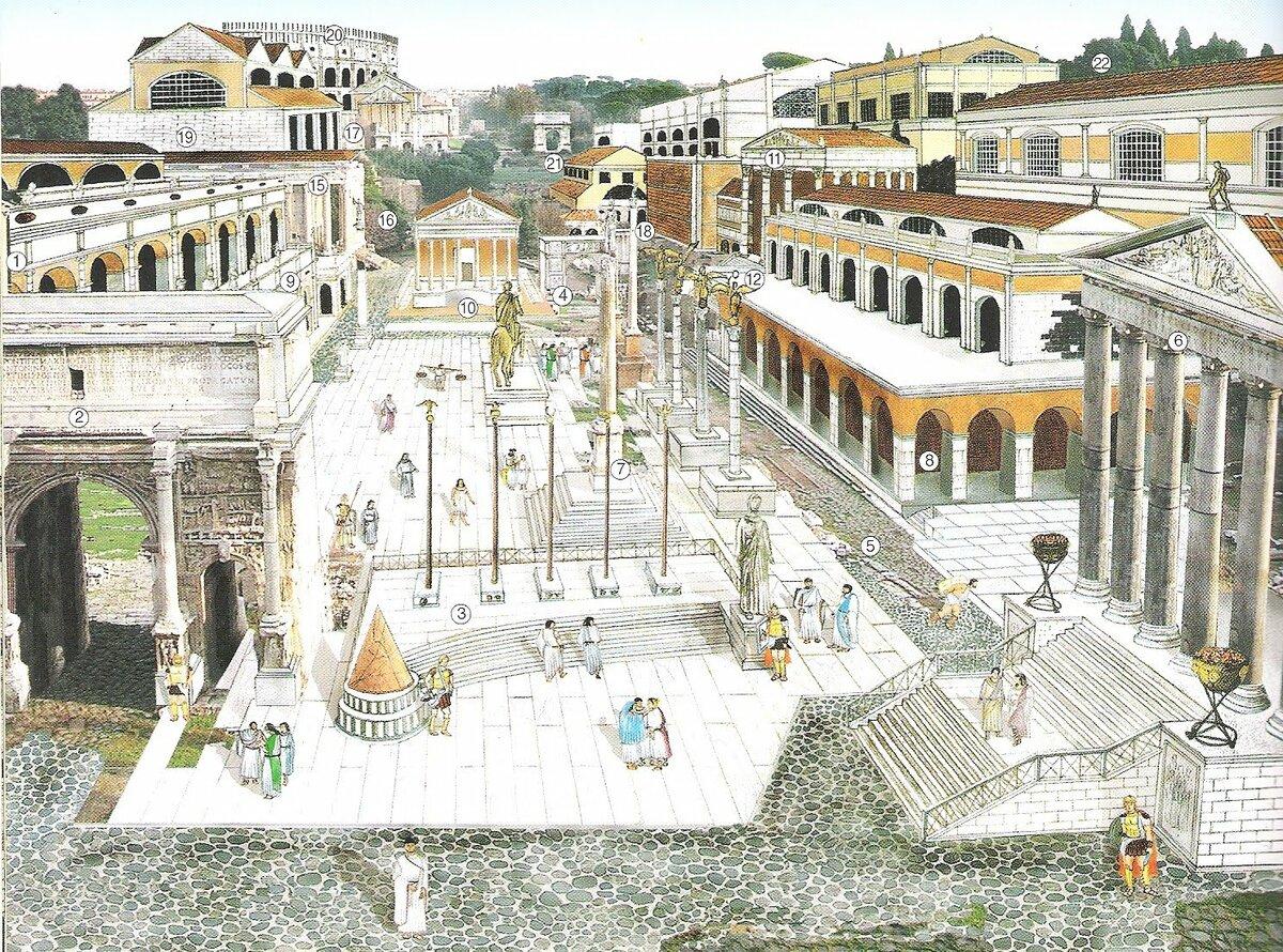 Улицы древнего рима картинки