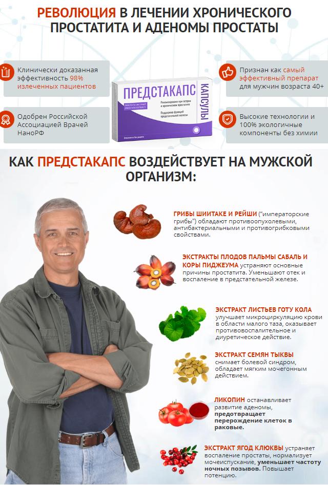 ProstoLite от простатита в Новокузнецке
