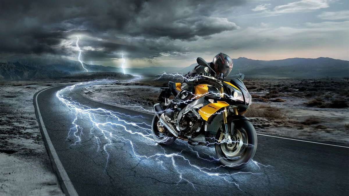 бортиков картинки мотоциклист на дороге абилов