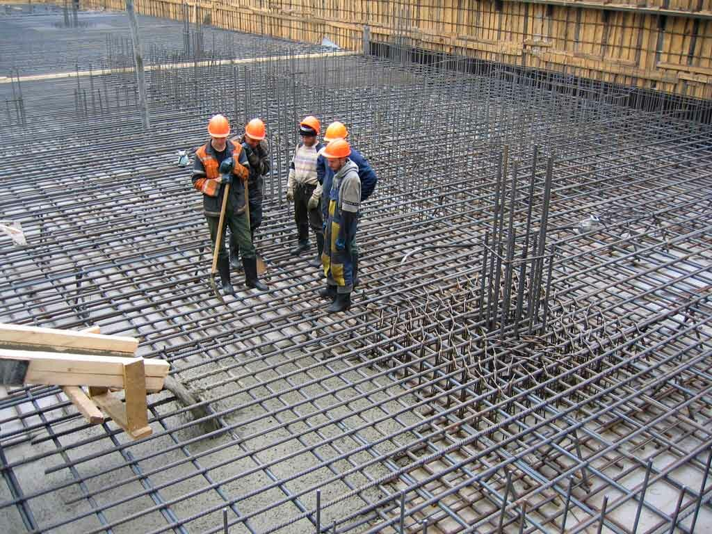 армированный бетон цена