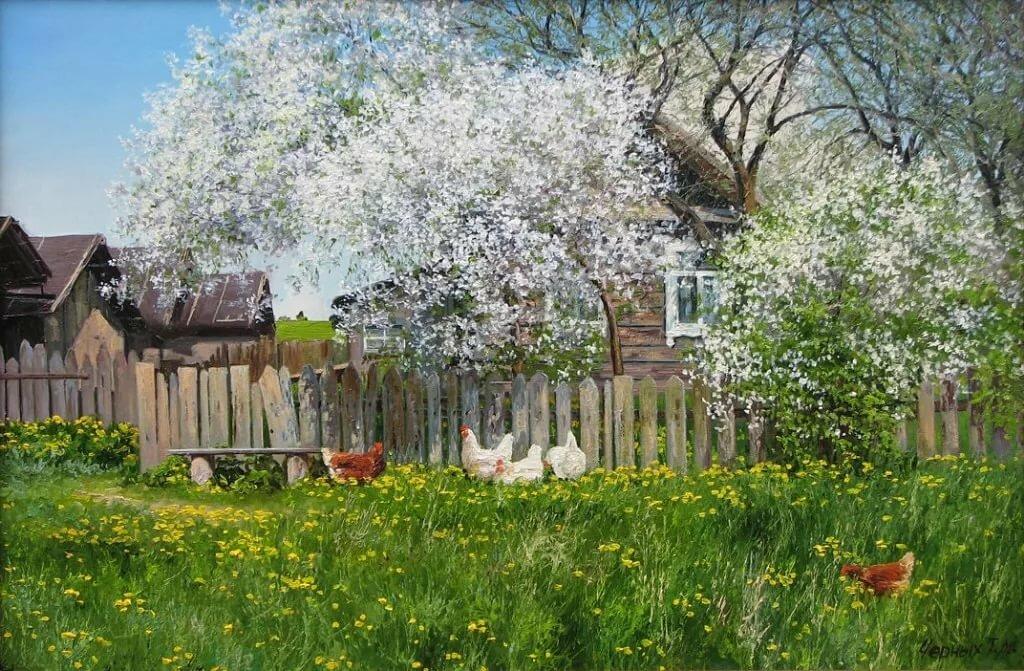 картинки с изображением весны в деревне нашем клубе объявляется