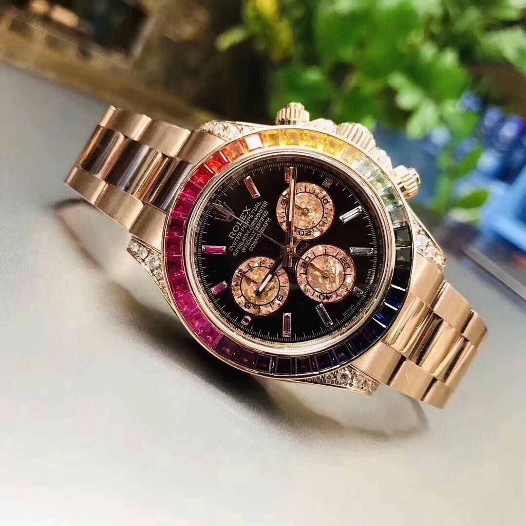 Часы Rolex White Gold Daytona Rainbow в Назрани