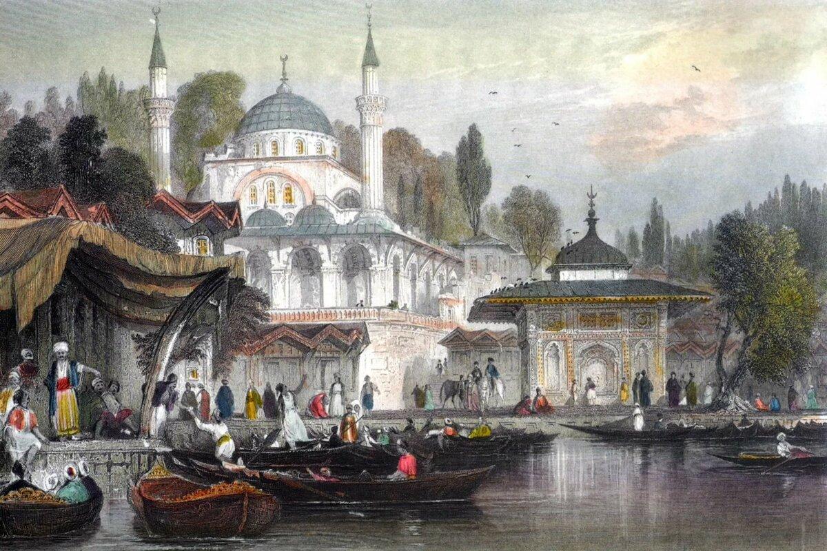 константинополь открытки 19 века победы его