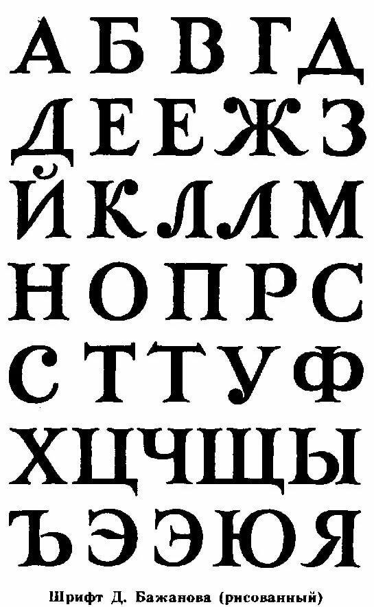 Русские шрифты картинки алфавит