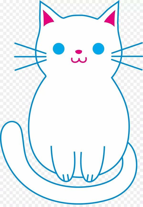 Kedi Yavru Kopek Boyama Kitabi Noel Sevimli Kedi Kucuk Resim V