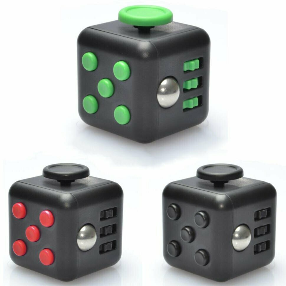 Fidget Cube - устройство-антистресс