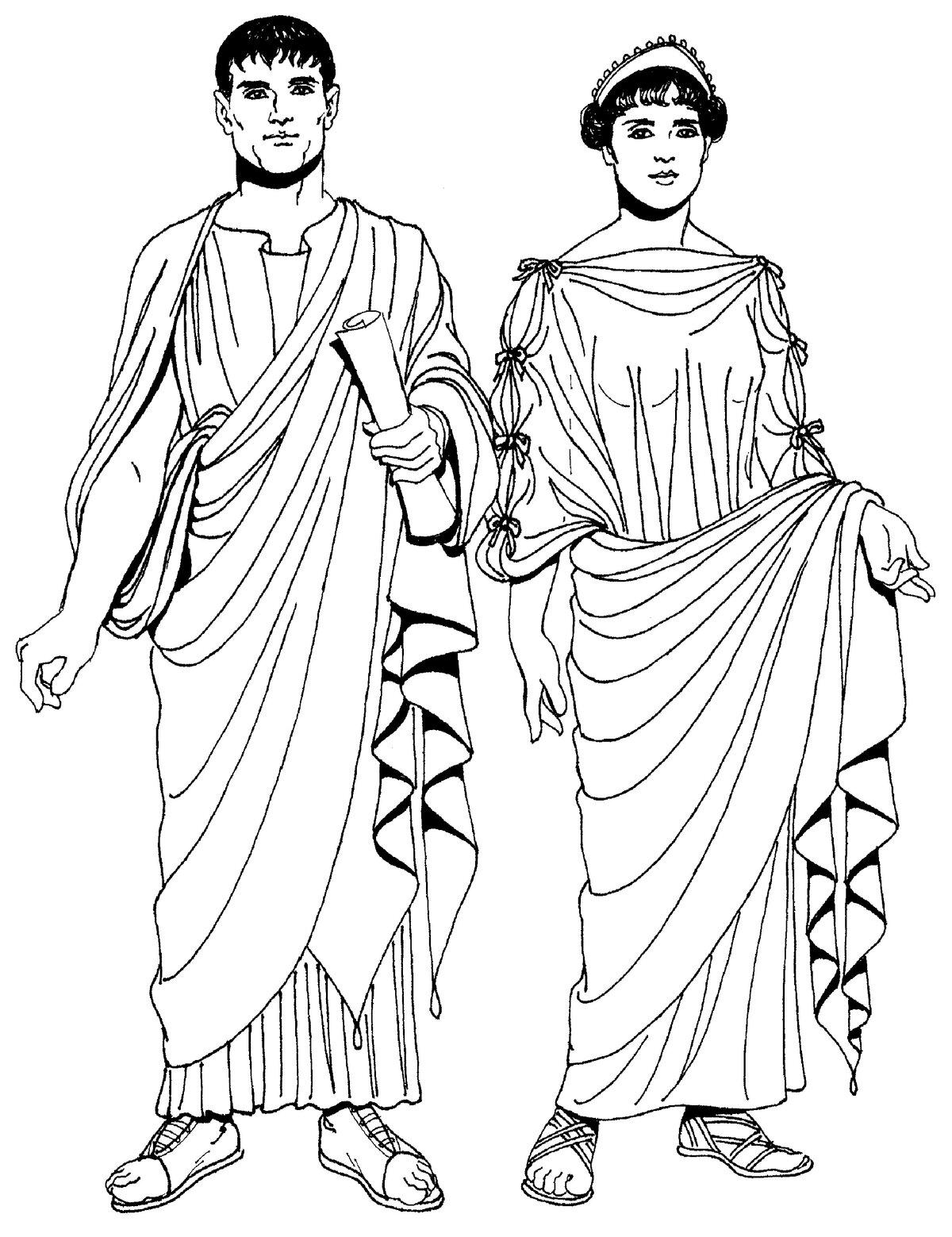картинка мода в древнем риме игровую зону флагами