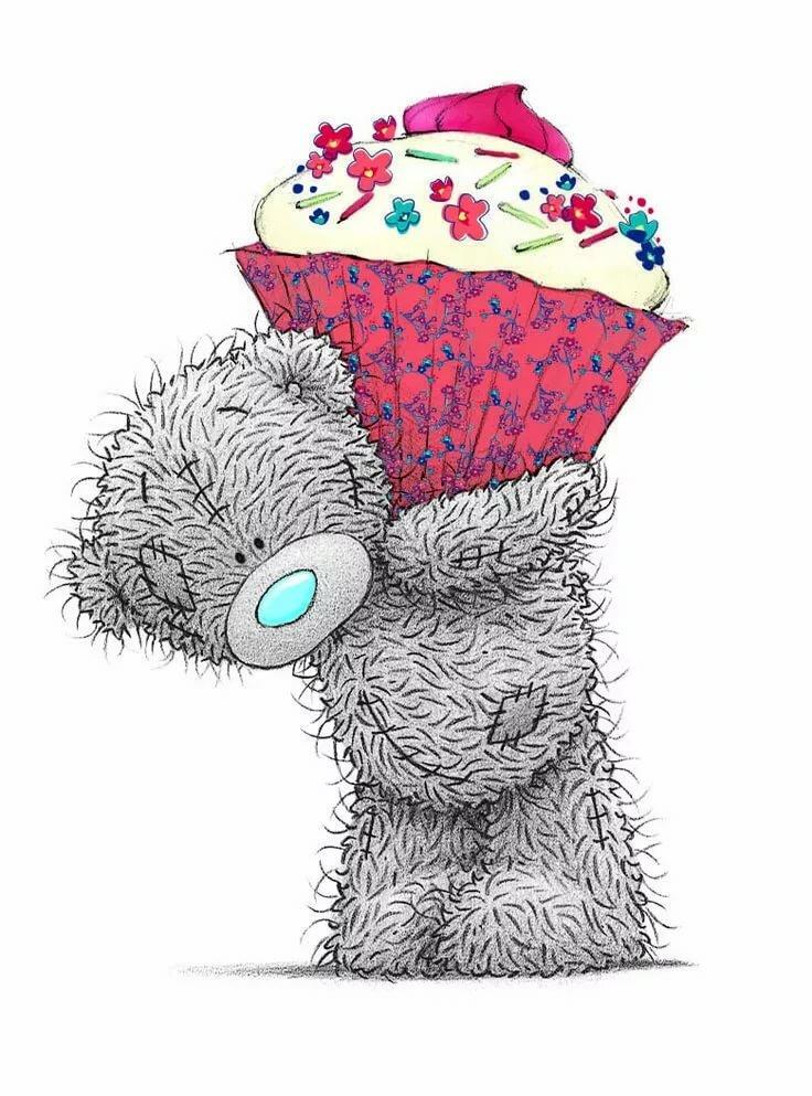 Днем, открытки мишки тедди с днем рождение