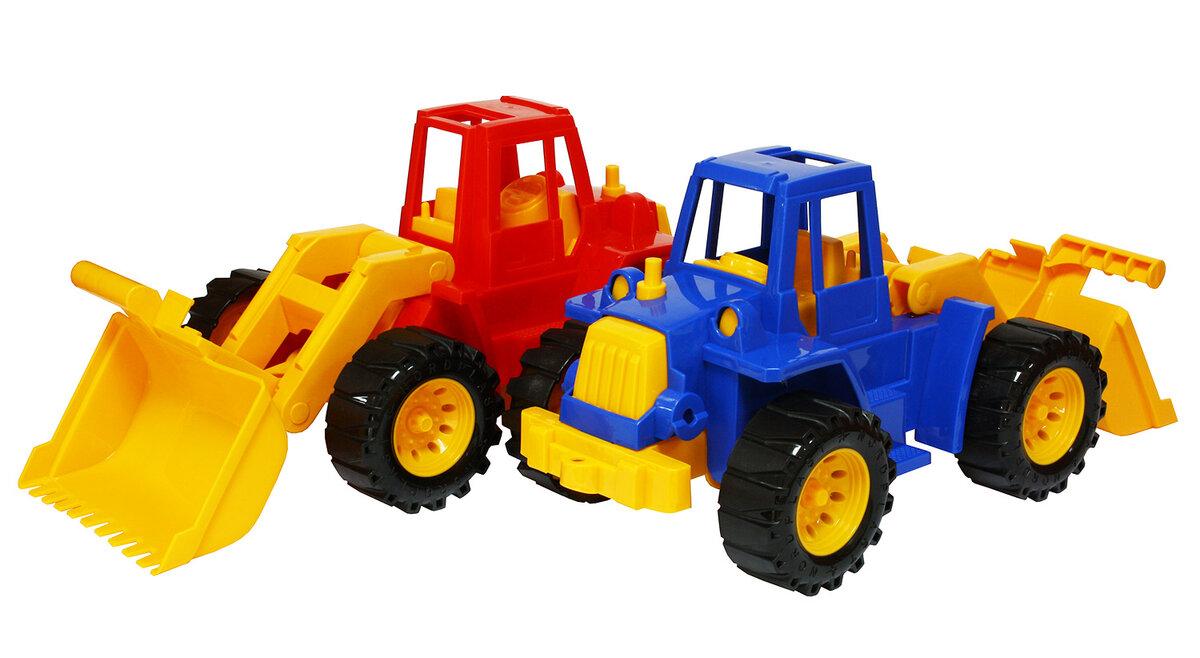 Картинка игрушка трактор