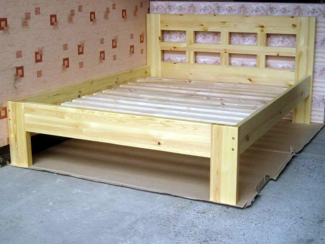 деревянная кровать сделать самому фото видения могут быть