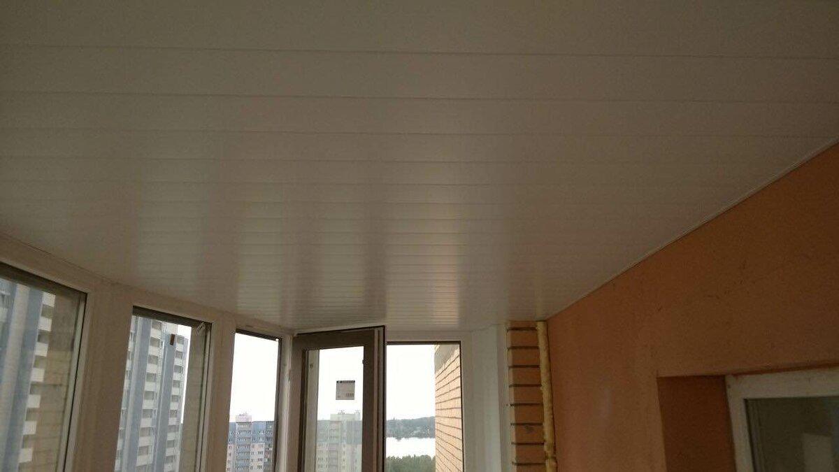 Реечный потолок №44