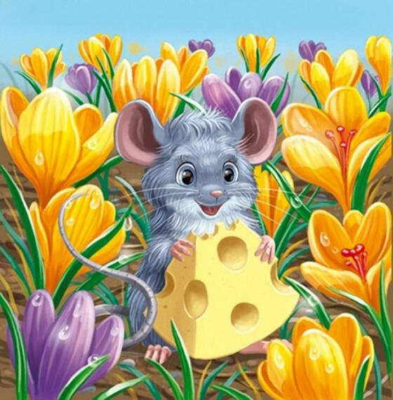 Детские картинки животных и цветов