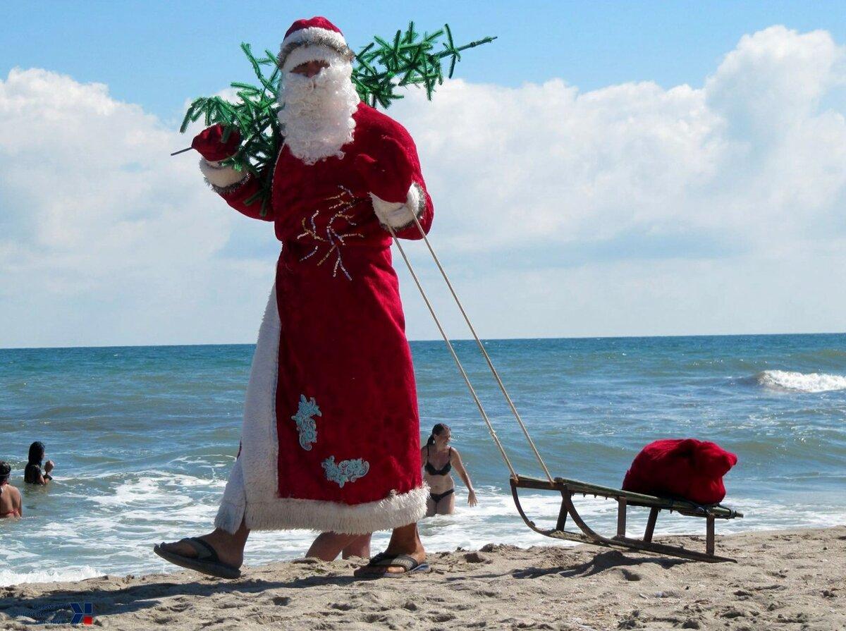 новый год смешной дед мороз картинки принадлежит его владельцу