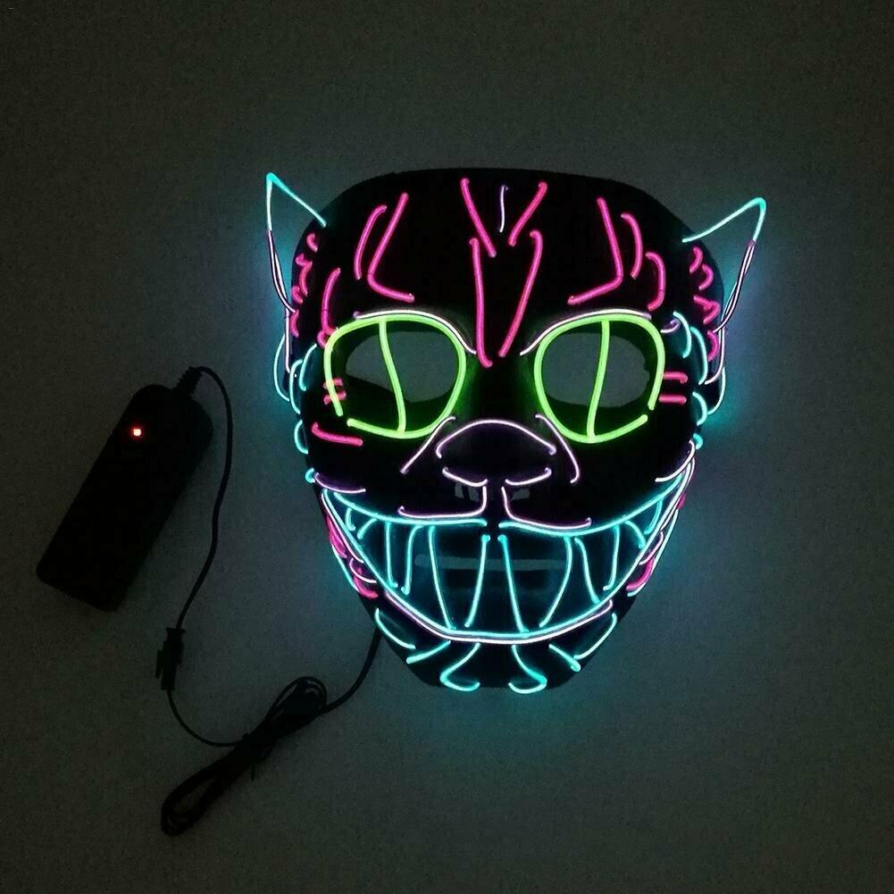 сам картинки со светящимися масками обвеса автомобиль установили