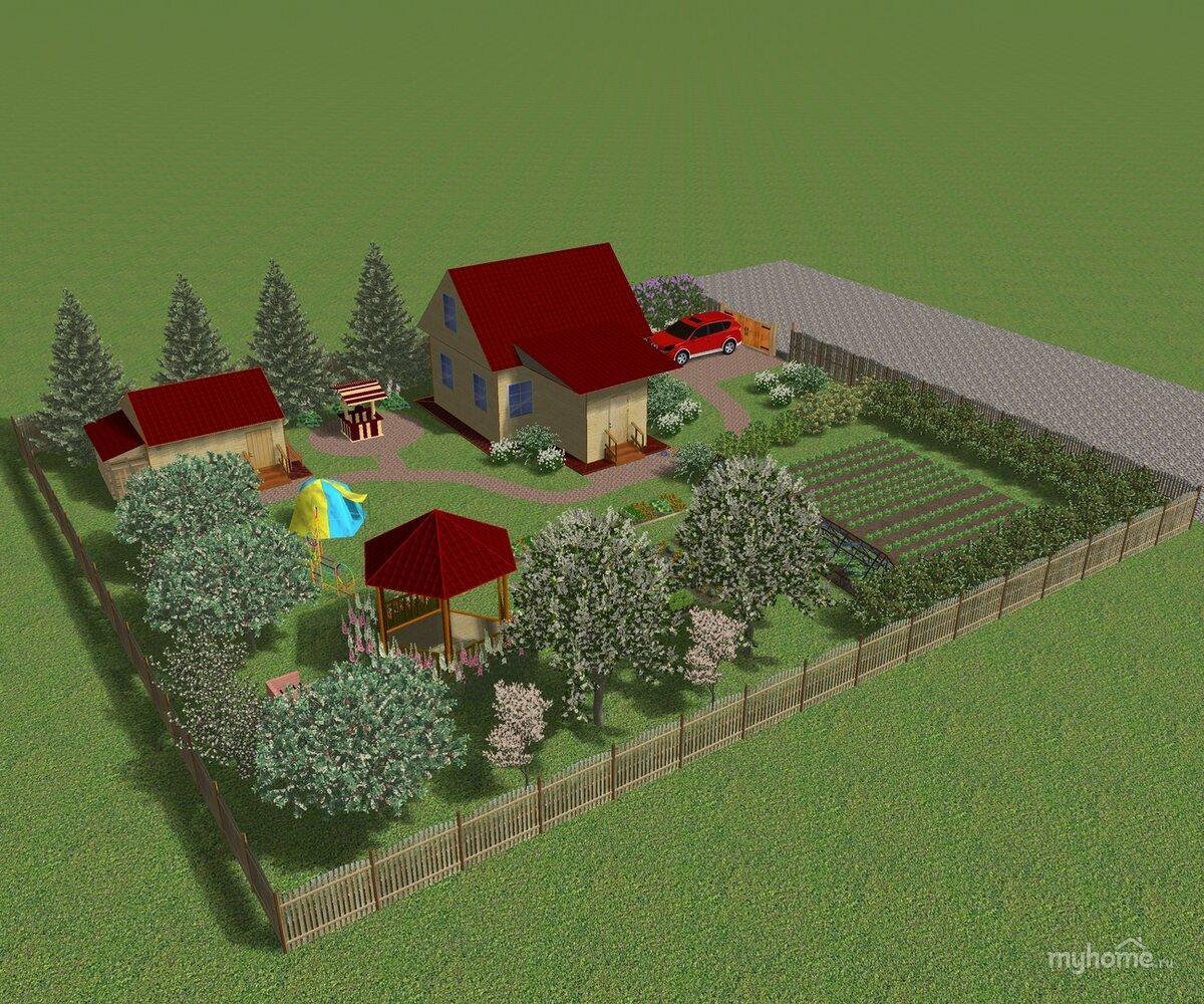 временная постройка на земельном участке