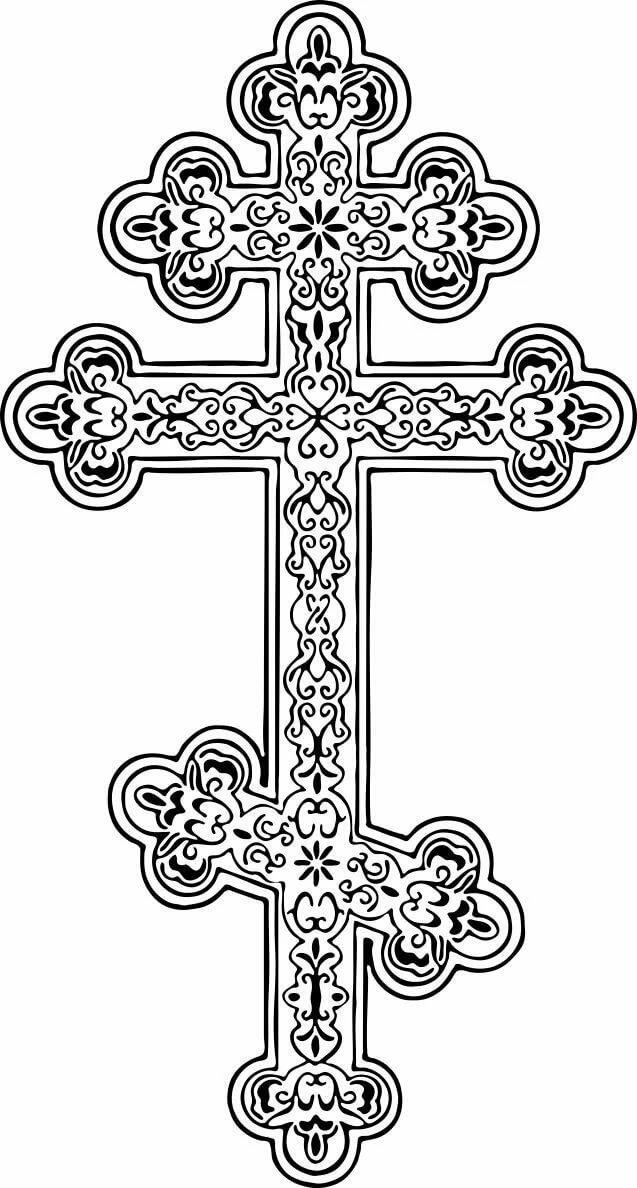 Церковный крест картинки