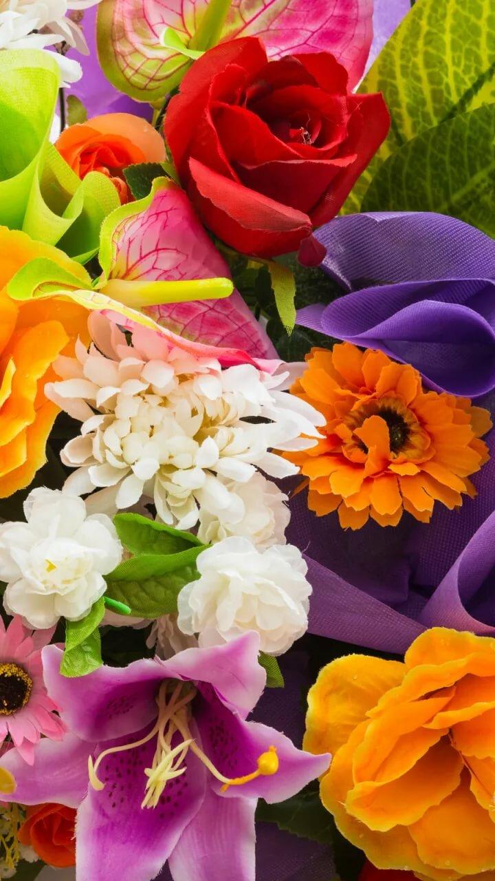 разные цветы на одной картинке кличко застыли, скрепив