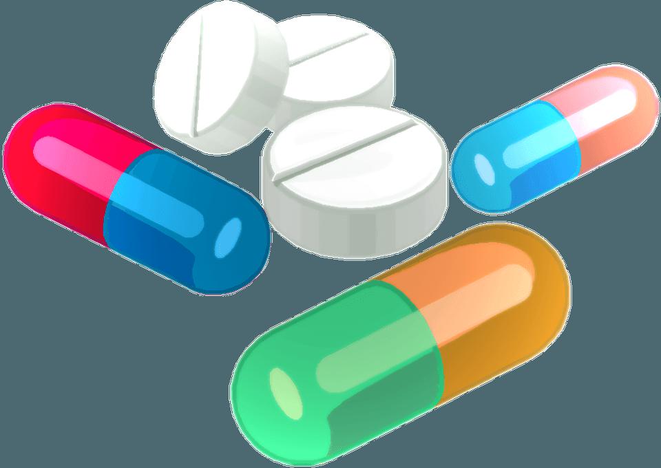 Мультяшные картинки лекарств