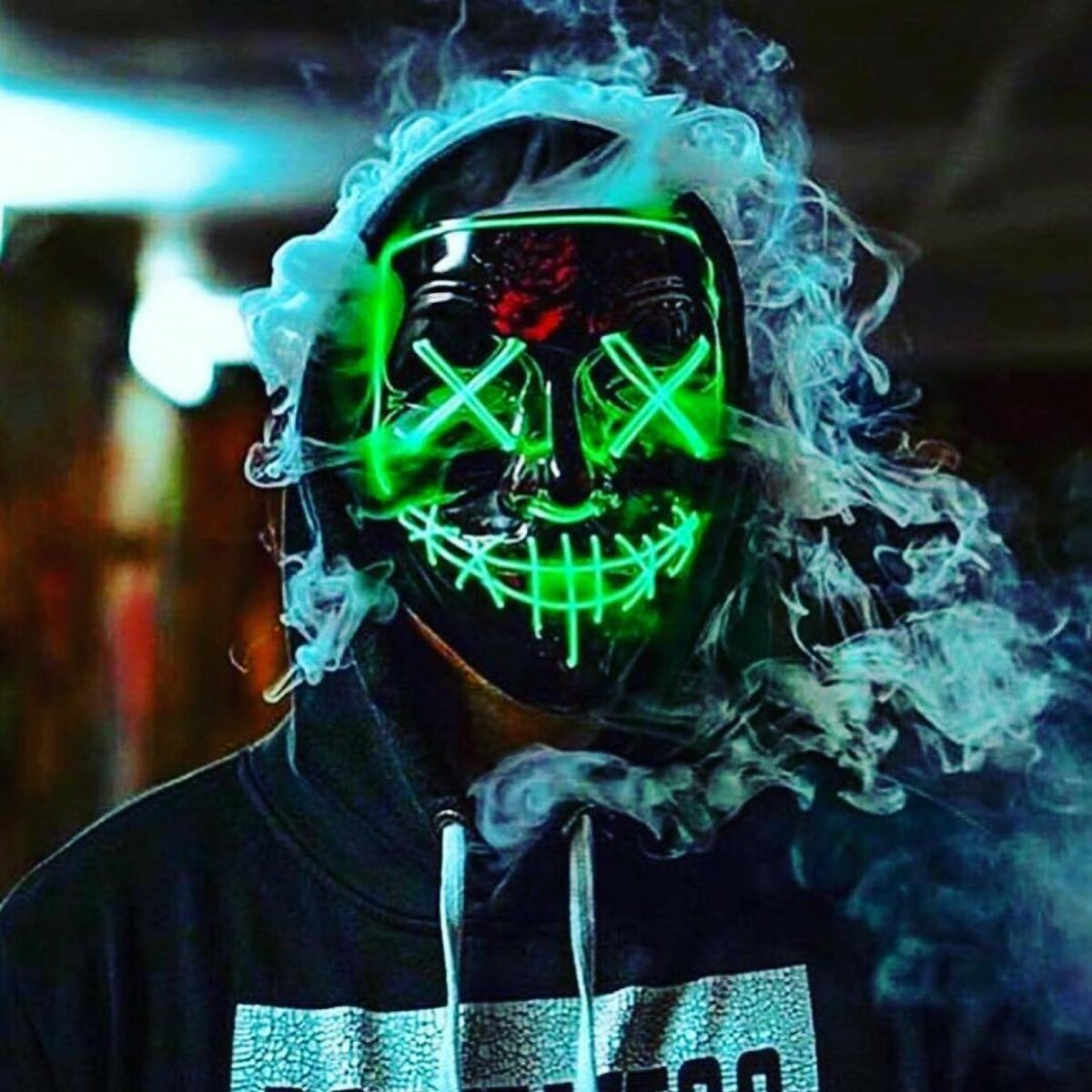 крутые картинки с маской светящейся осуществляем изготовление