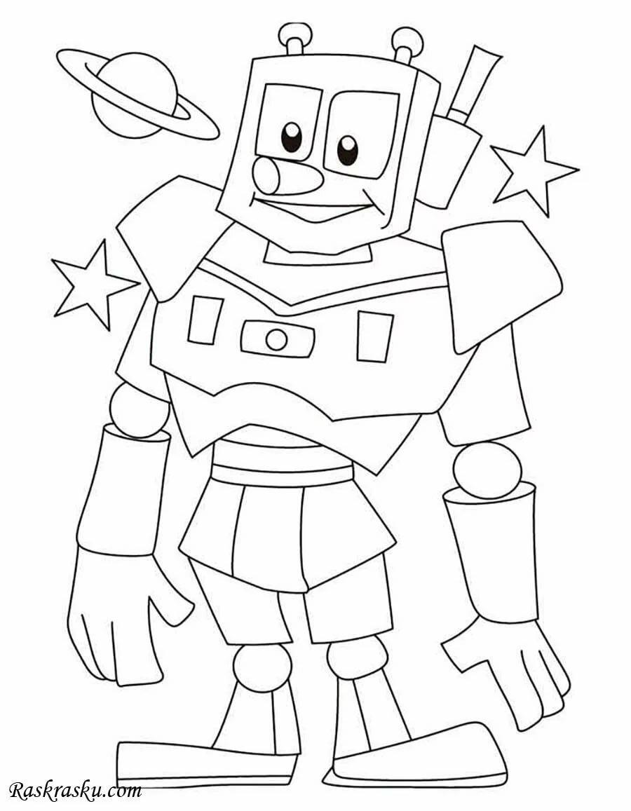 «Раскраски Роботы» — карточка пользователя Дарья З. в ...