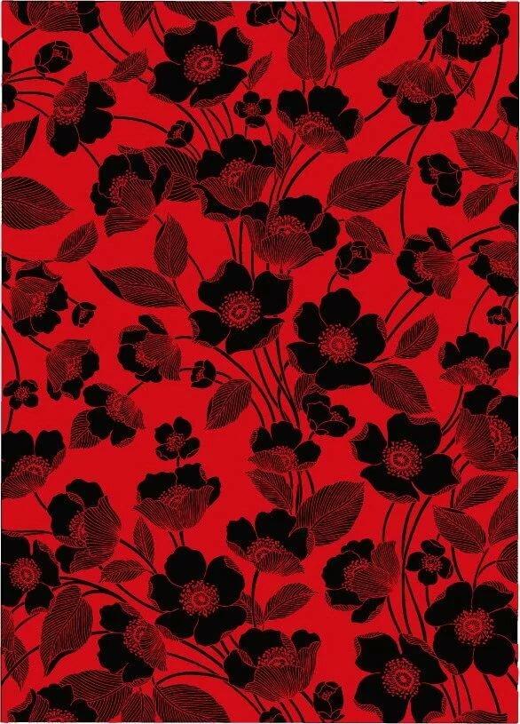 картинки узоры черно красные мечту, нее есть