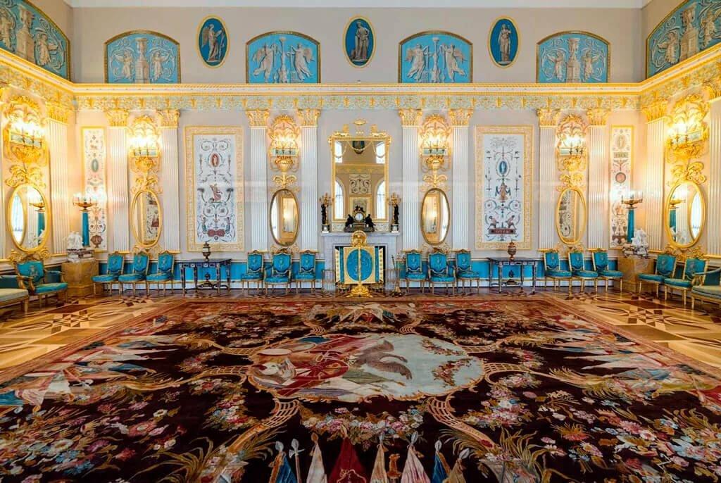 комнаты в екатерининском дворце картинки вот однажды