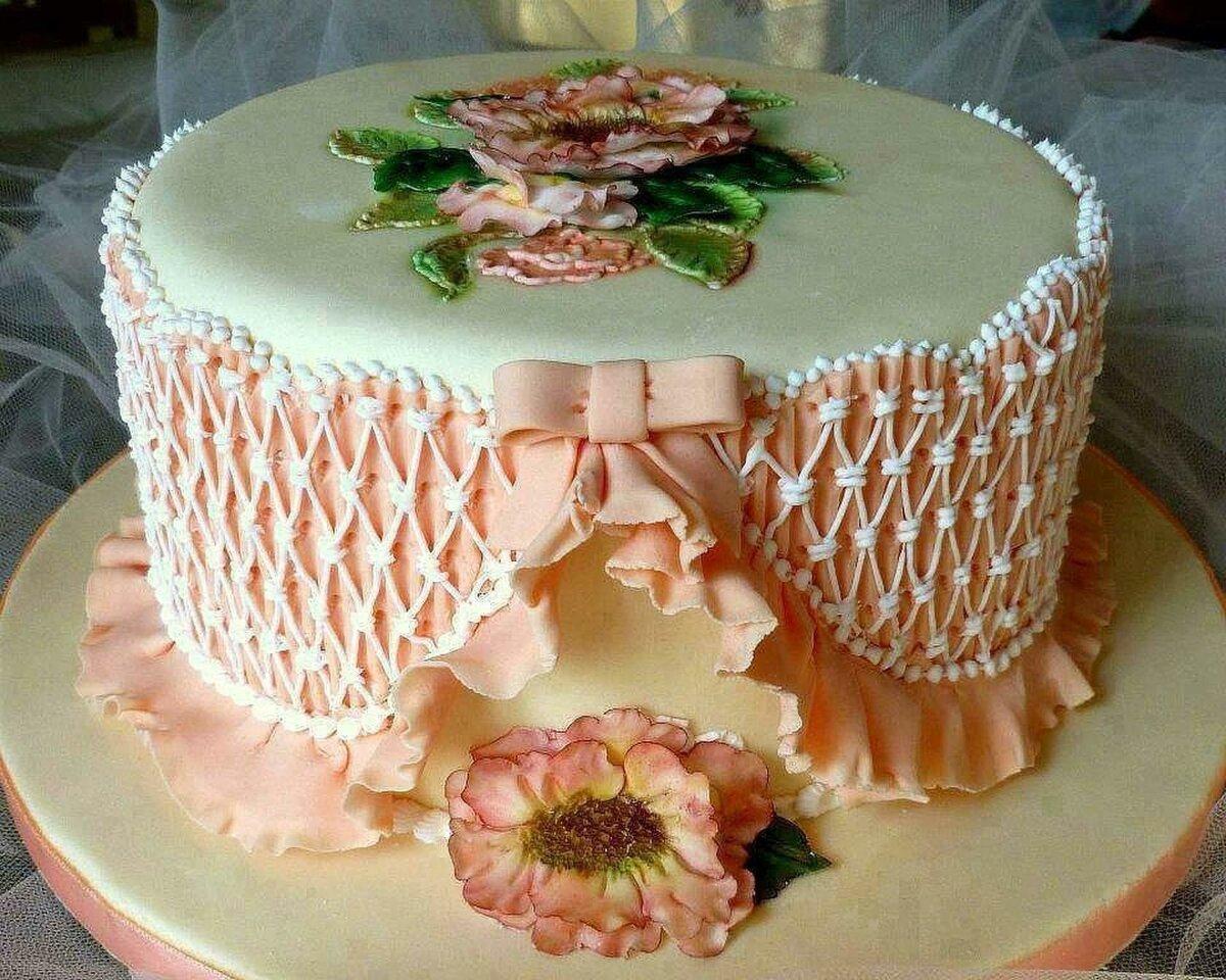 красиво украсить торт картинка вот настоящее