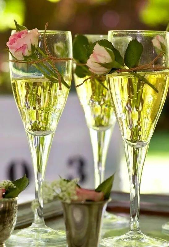 Картинки, шампанское поздравление картинки