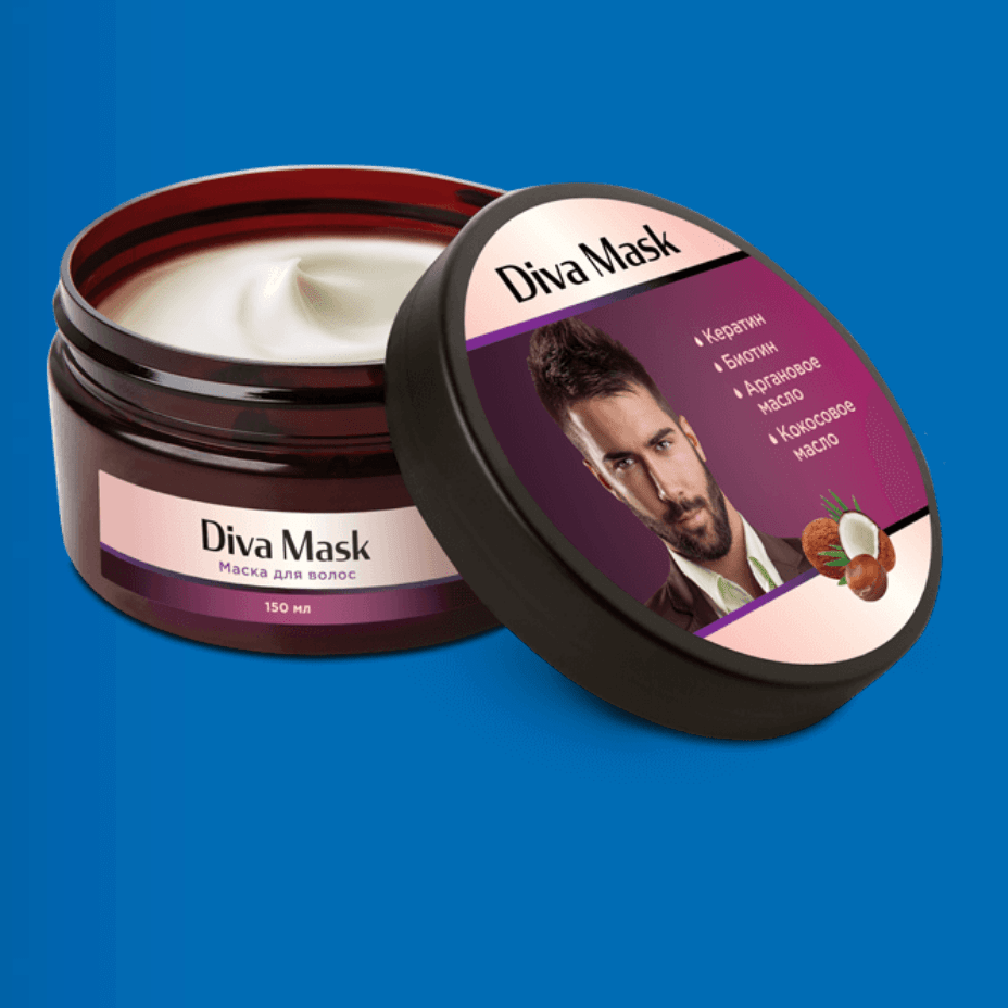 Diva Mask для укрепления и здоровья волос в Архангельске