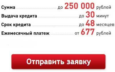 кредит 50 тысяч онлайн