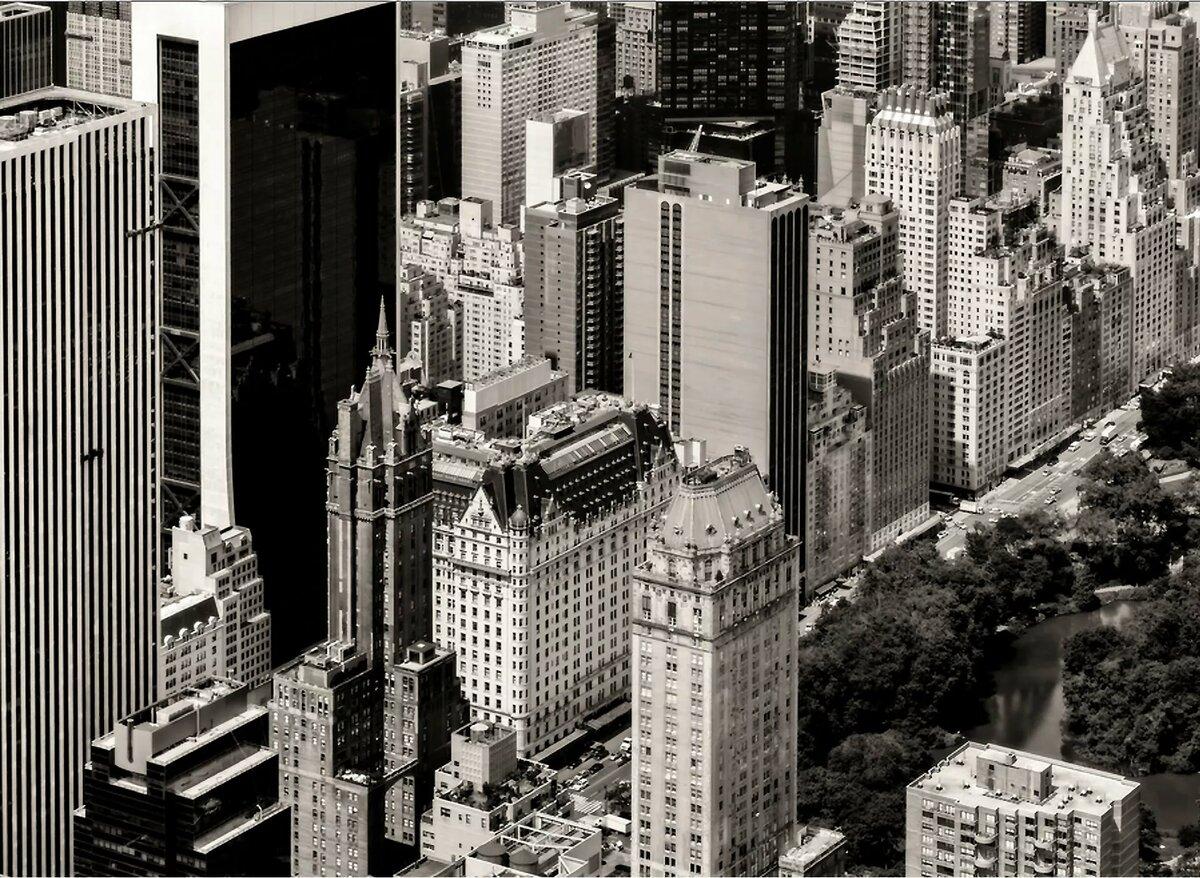 Постер нью йорк черно белый