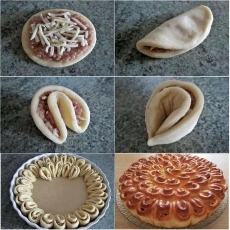 формирование пирогов из дрожжевого теста фото отыщите картинку