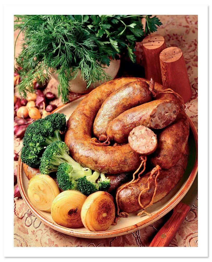рецепт домашней колбасы в картинках далеко полный