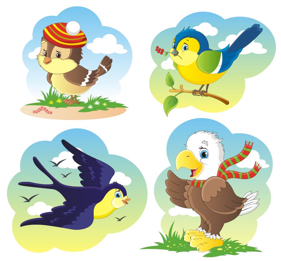 Картинки весенние птицы для оформления