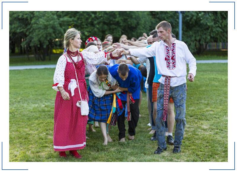 Картинки русские народные игры