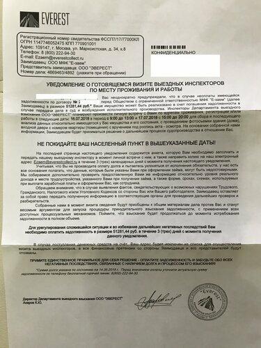 Дам деньги под расписку от частного лица москва без залога