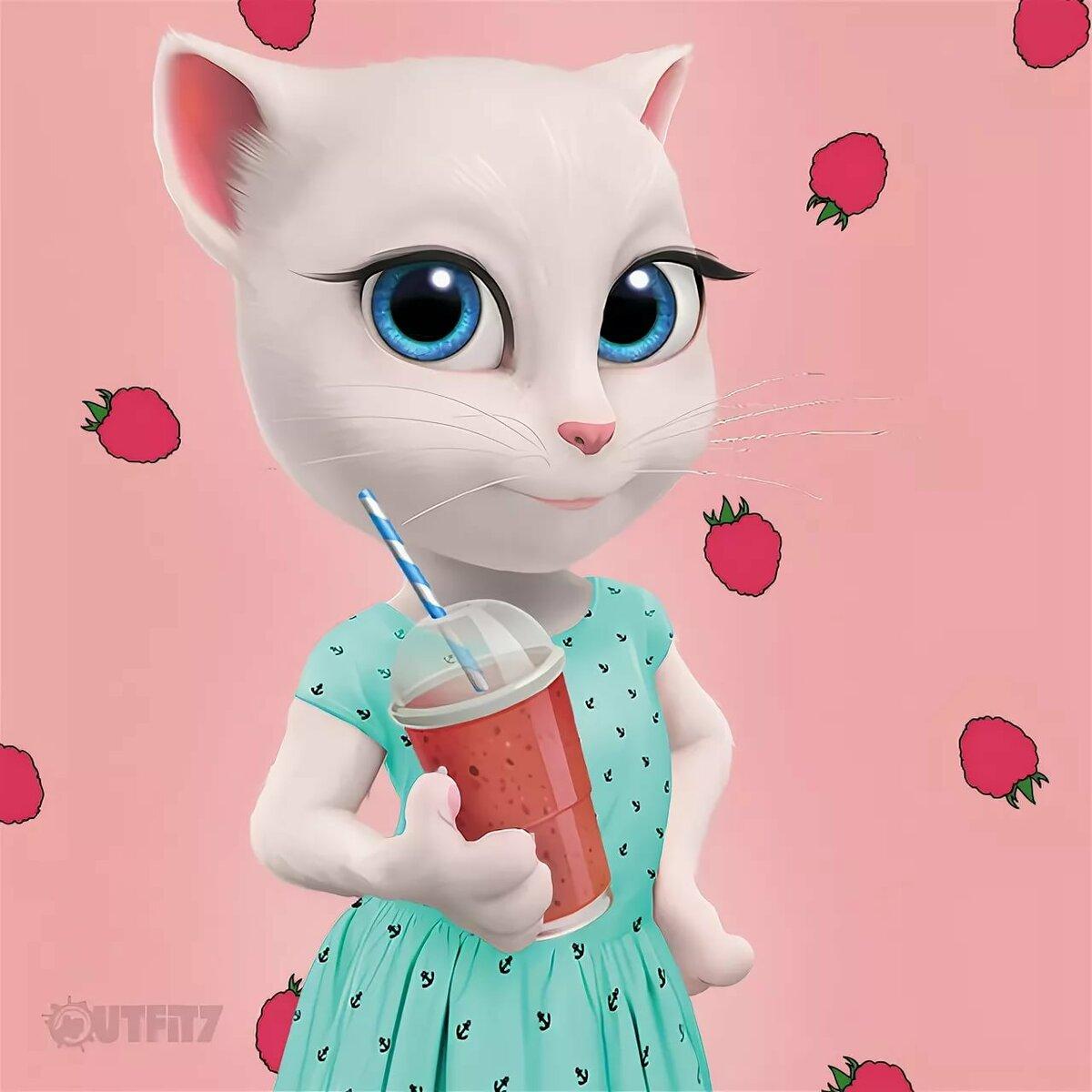 Картинки анджелы кошки