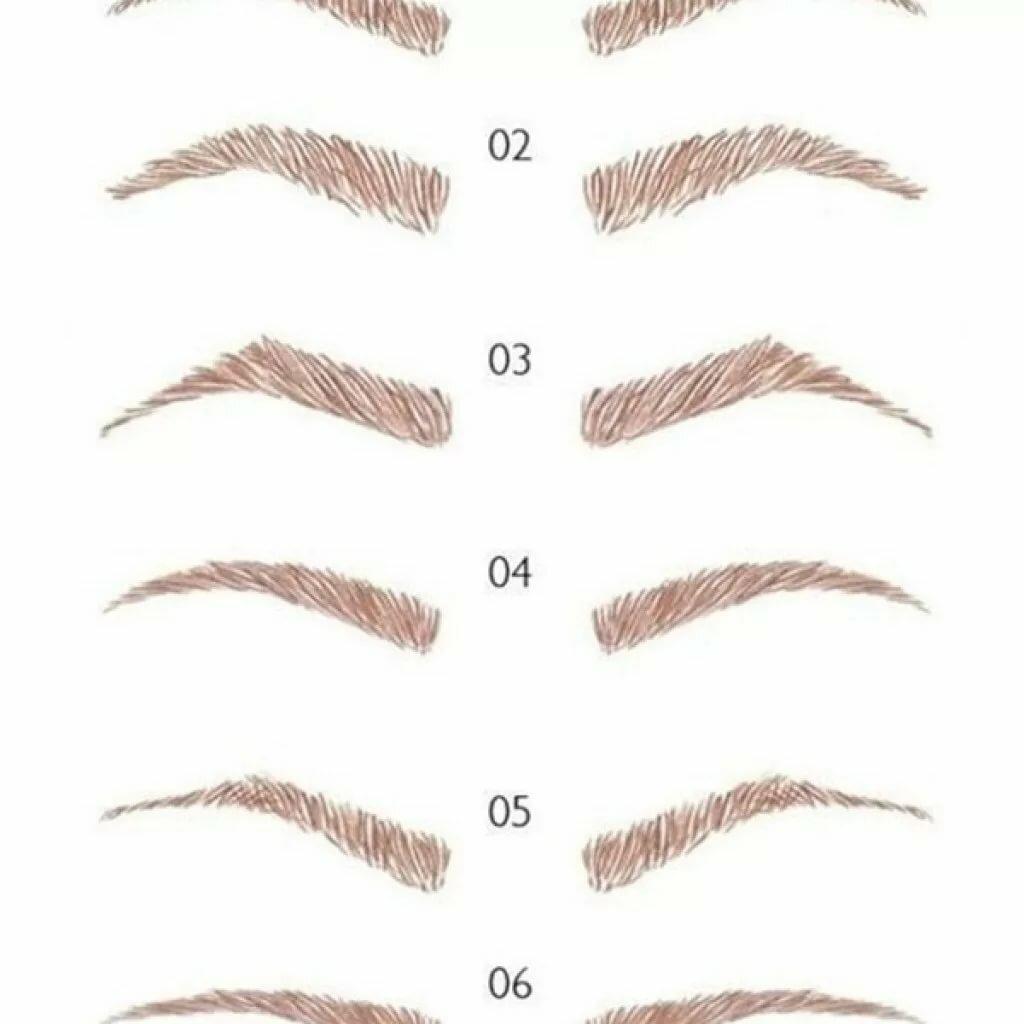 поэтапные картинки как нарисовать брови человека карандашом уже можно