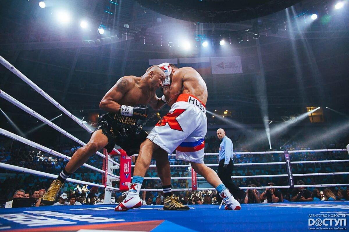 Боксер в ринге картинка