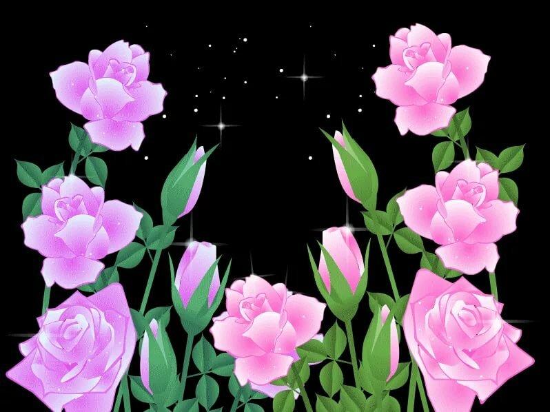 видео открытка с распускающимися цветами 9 цветов комментариях можете поделится