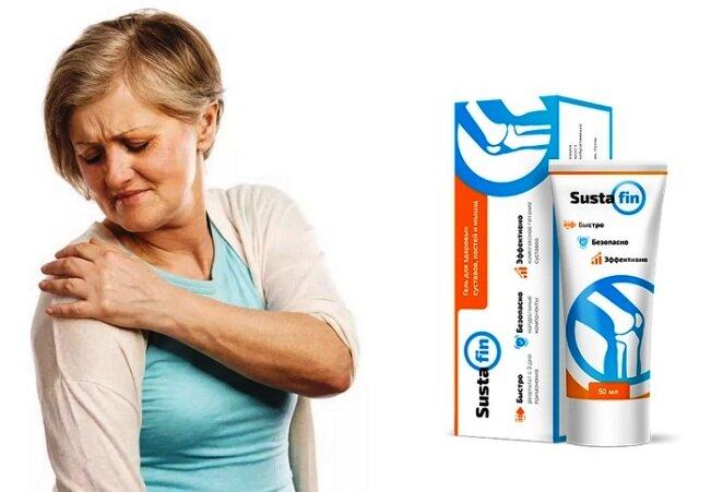 Sustafin - гель для суставов в Оби