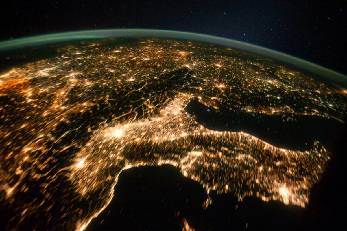 Картинки вида земли с космоса