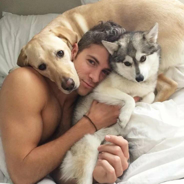 Картинки парню с животными